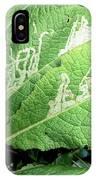 Leaf Miner On Primrose IPhone X Case