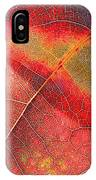 Leaf Pattern_1 IPhone X Case