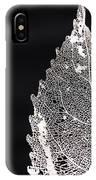 Leaf Skeleton 02 IPhone Case