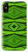 Leaf Structure Abstract IPhone Case