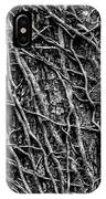 Leafless Ivy IPhone Case