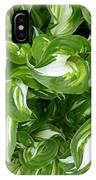 Leafy Swirl IPhone Case