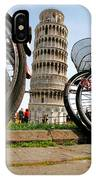 Leaning Bicycles Of Pisa IPhone Case