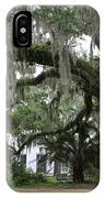 Leaning Live Oak IPhone Case