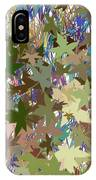 Leaves And Grass Abstract IPhone Case