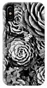 Leaves And Succulents IPhone Case