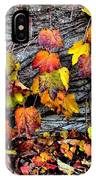 Leaves At The Levee IPhone Case