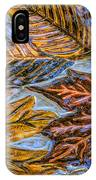 Leaves In Glass IPhone Case