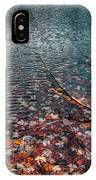 Leaves In The Lake IPhone Case