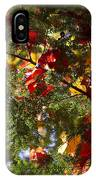 Leaves On Evergreen IPhone Case
