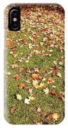 Leaves On Grass IPhone Case