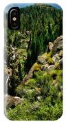 Leavitt Falls From Afar IPhone Case