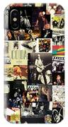Led Zeppelin Collage IPhone Case