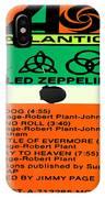 Led Zeppelin Iv Side 1 IPhone Case