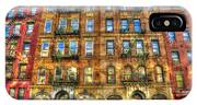 Led Zeppelin Physical Graffiti Building In Color IPhone X Case