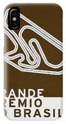 Legendary Races - 1973 Grande Premio Do Brasil IPhone Case