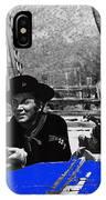 Leif Erickson Cameron Mitchell  Mark Slade Number 1 The High Chaparral Set Old Tucson Az 1969 IPhone Case