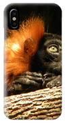 Lemur In Longing IPhone Case