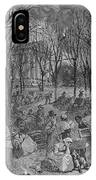 Lenox, Massachusetts, From Historical Collections Of Massachusetts, John Warner Barber, Engraved IPhone Case