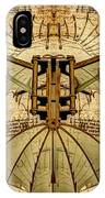 Leonardo Da Vinci Antique Flying Machine Under Parchment IPhone X Case