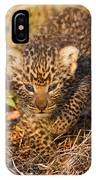 Leopard Cub IPhone Case