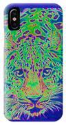 Leopard Eyes Green IPhone Case