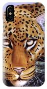 Leopard In A Tree IPhone Case