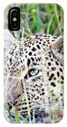 Leopard In The Grass IPhone Case