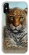 Leopard In The Mist IPhone Case
