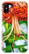 Leopard Lily IPhone Case