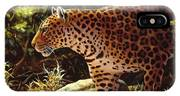 Leopard Painting - On The Prowl IPhone Case