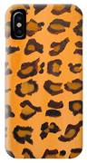 Leopard Print Hand Painted Leopard Print  IPhone Case