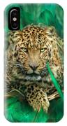 Leopard - Spirit Of Empowerment IPhone Case