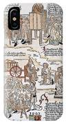 Lepers, 1493 IPhone Case