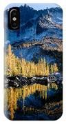 Leprechaun Lake Larch Trees IPhone Case