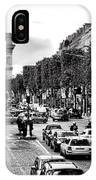 Les Champs Elysees  IPhone Case