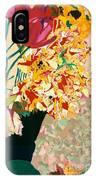 Les Fleur IPhone Case