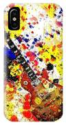 Les Paul Retro Abstract IPhone Case