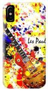 Les Paul Retro IPhone Case
