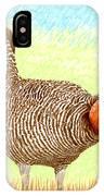 Lesser Prairie Chicken IPhone Case
