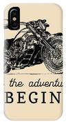 Let The Adventures Begin Inspirational IPhone Case