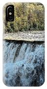 Letchworth State Park Middle Falls In Autumn IPhone Case