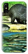 Lets Play And Swim IPhone Case