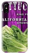 Lettuce Farm IPhone Case