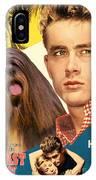 Lhasa Apso Art - East Of Eden Movie Poster IPhone Case