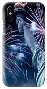 Liberty Fireworks IPhone Case