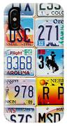 Licence Plates IPhone Case