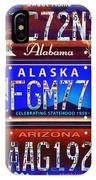 License Plate IPhone Case