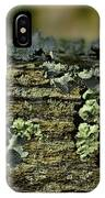 Lichen Macro I IPhone Case