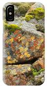 Lichens And Moss In Glen Strathfarrar IPhone Case